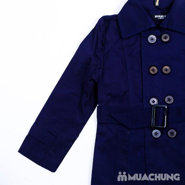 Áo măng tô 2 lớp cho bé size 1-3 - 2