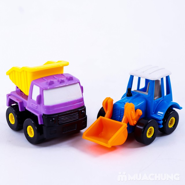 Bộ 6 xe công trình cỡ nhỏ - Bé tập làm công nhân - 7