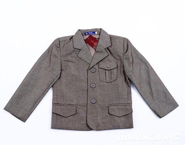 Bộ vest kèm áo gile cho bé trai - 14