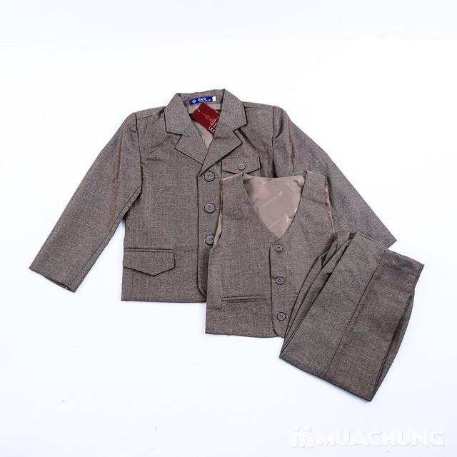Bộ vest kèm áo gile cho bé trai - 2