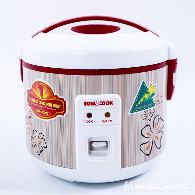 Nồi cơm điện Sonicook 1.2L Công nghệ Nhật Bản - 6