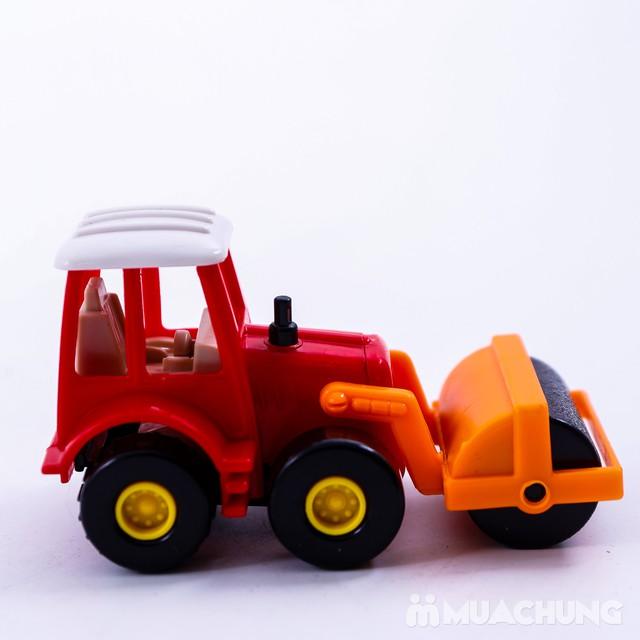 Bộ 6 xe công trình cỡ nhỏ - Bé tập làm công nhân - 3