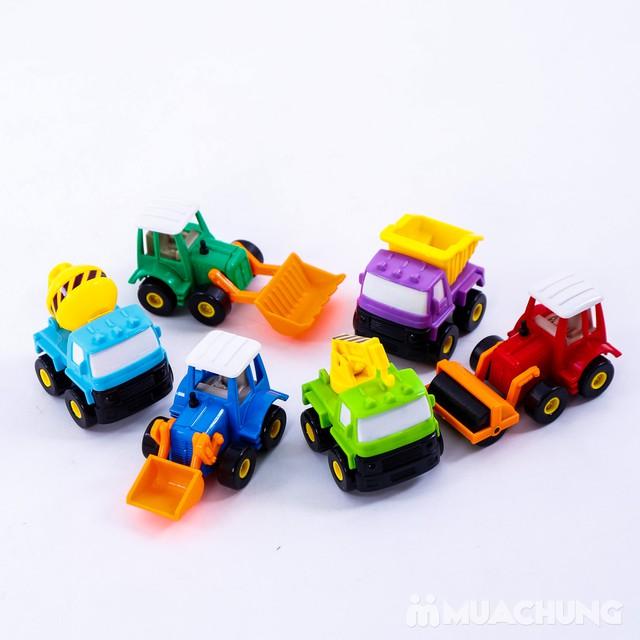Bộ 6 xe công trình cỡ nhỏ - Bé tập làm công nhân - 2