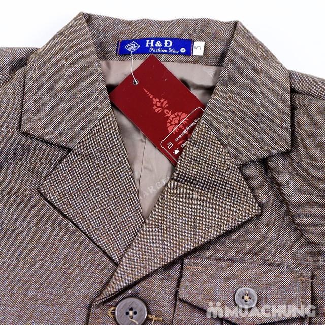 Bộ vest kèm áo gile cho bé trai - 7