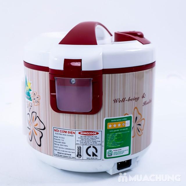 Nồi cơm điện Sonicook 1.2L Công nghệ Nhật Bản - 8