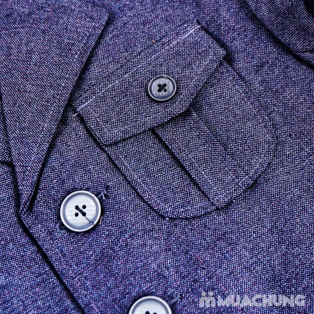 Bộ vest kèm áo gile cho bé trai - 16
