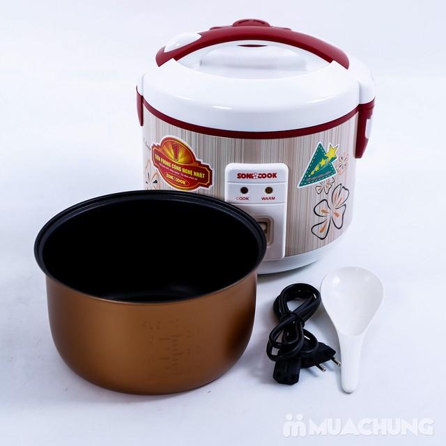 Nồi cơm điện Sonicook 1.2L Công nghệ Nhật Bản - 3