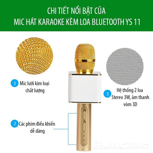 Mic hát Karaoke Magic YS-11 có cổng USB - 5