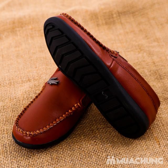 Chọn 1 trong 3 mẫu giày lười da bé trai size 28-32 - 4