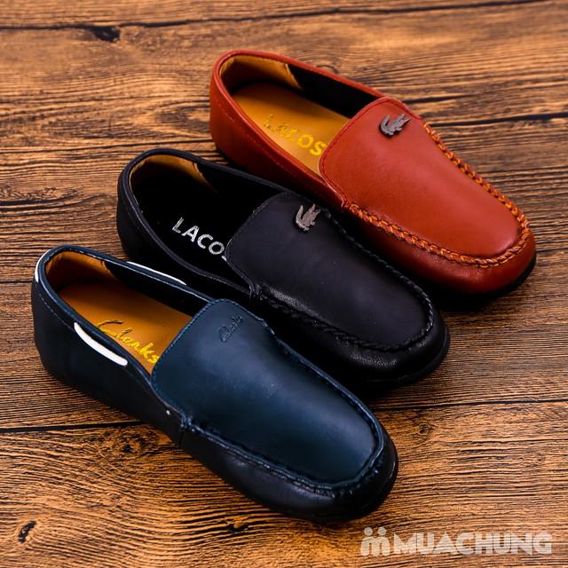Chọn 1 trong 3 mẫu giày lười da bé trai size 33-37 - 6