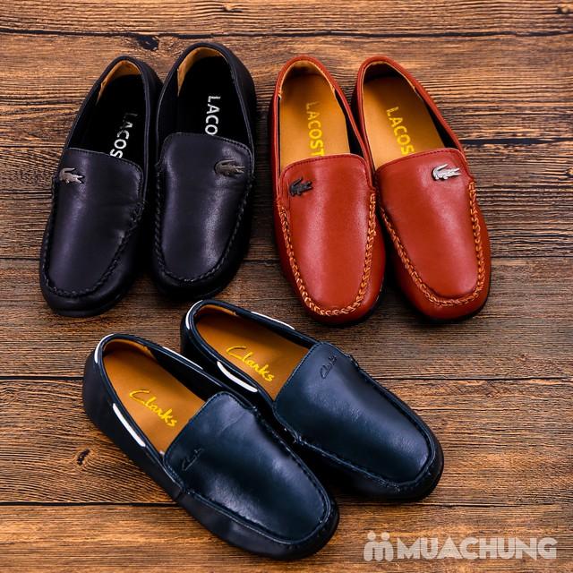 Chọn 1 trong 3 mẫu giày lười da bé trai size 33-37 - 5
