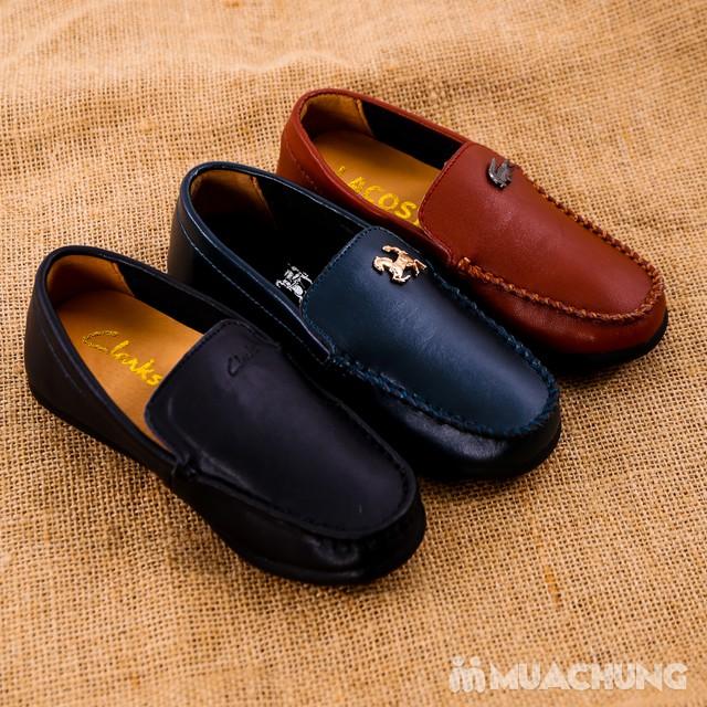 Chọn 1 trong 3 mẫu giày lười da bé trai size 28-32 - 1