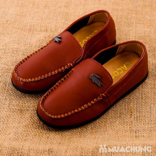 Chọn 1 trong 3 mẫu giày lười da bé trai size 28-32 - 2