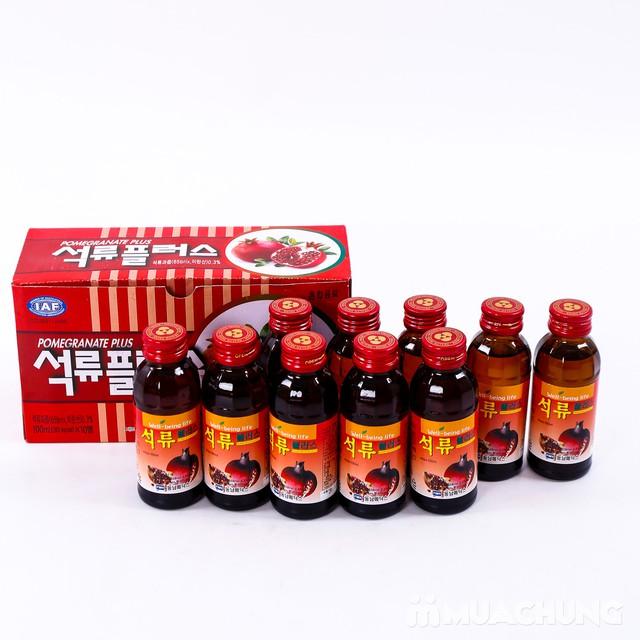Hộp 10 chai nước hoa quả không ga HQ bổ dưỡng - 5