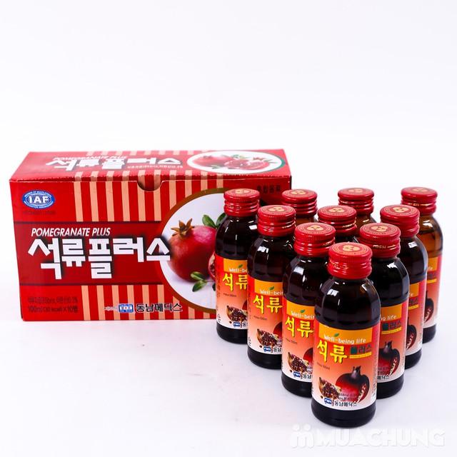 Hộp 10 chai nước hoa quả không ga HQ bổ dưỡng - 4