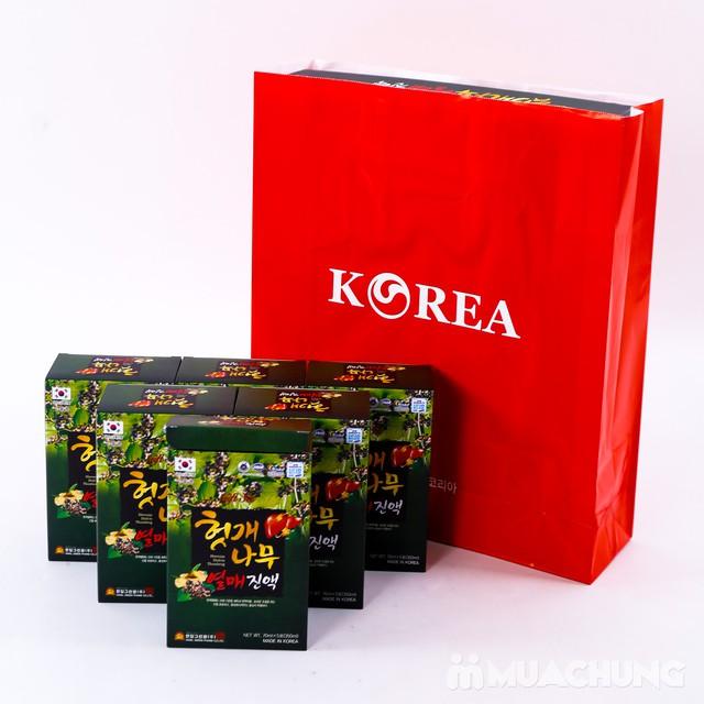Nước bổ gan Hovenia Hàn Quốc - giải rượu ngày Tết - 2