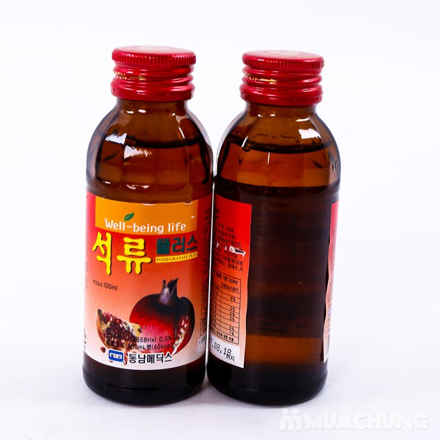 Hộp 10 chai nước hoa quả không ga HQ bổ dưỡng - 3