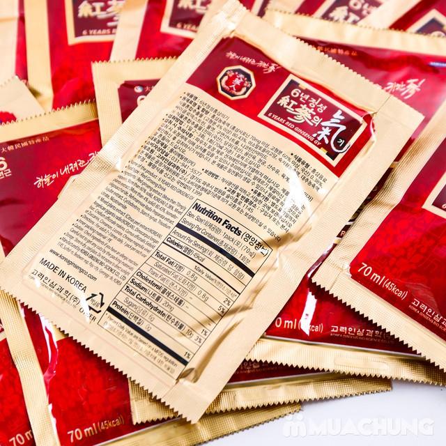 Hộp 30 gói tính chất hồng sâm 6 năm tuổi Hàn Quốc - 3