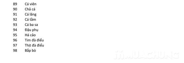 Buffet nướng lẩu tự chọn tại Trúc Quyên Lầu Quán - 20