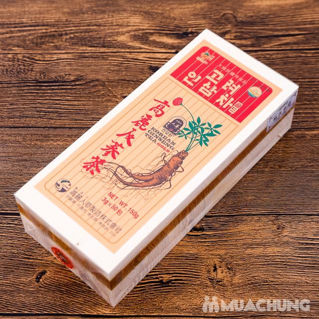 Trà sâm Gold Hàn Quốc hộp gỗ 150g (3g x 50 gói) - 6