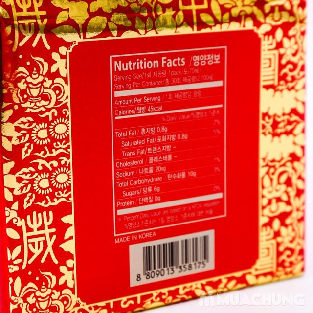 Hộp 30 gói tính chất hồng sâm 6 năm tuổi Hàn Quốc - 5