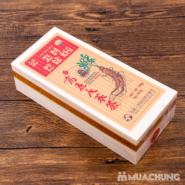 Trà sâm Gold Hàn Quốc hộp gỗ 150g (3g x 50 gói) - 7