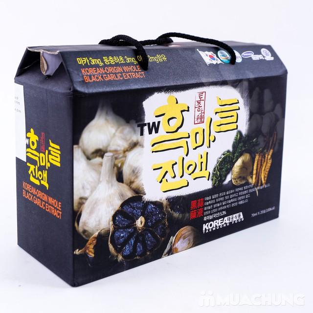 Tinh chất tỏi đen, đông trùng Taewoong NK Hàn Quốc - 12