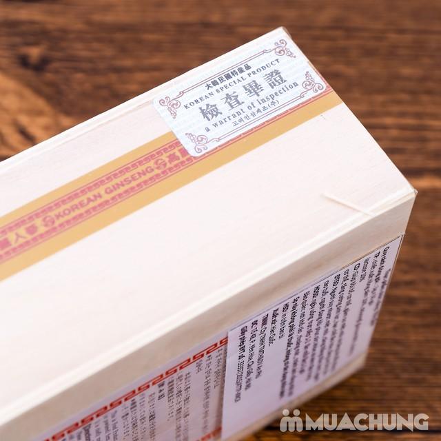 Trà sâm Gold Hàn Quốc hộp gỗ 150g (3g x 50 gói) - 9