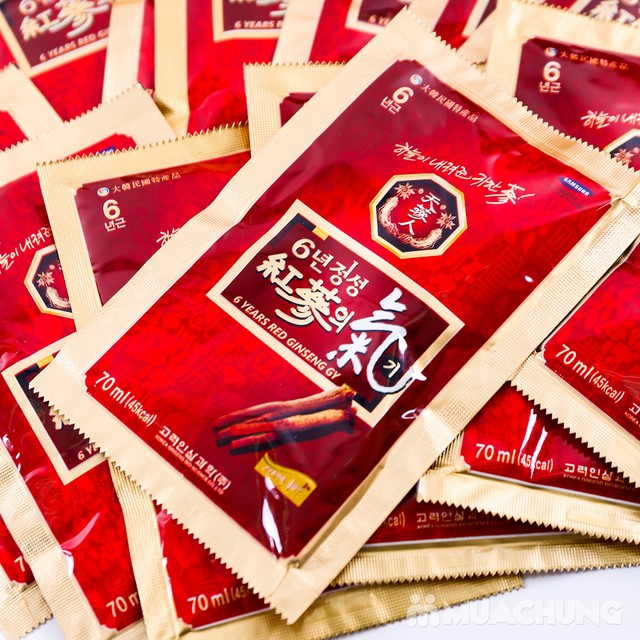 Hộp 30 gói tính chất hồng sâm 6 năm tuổi Hàn Quốc - 2