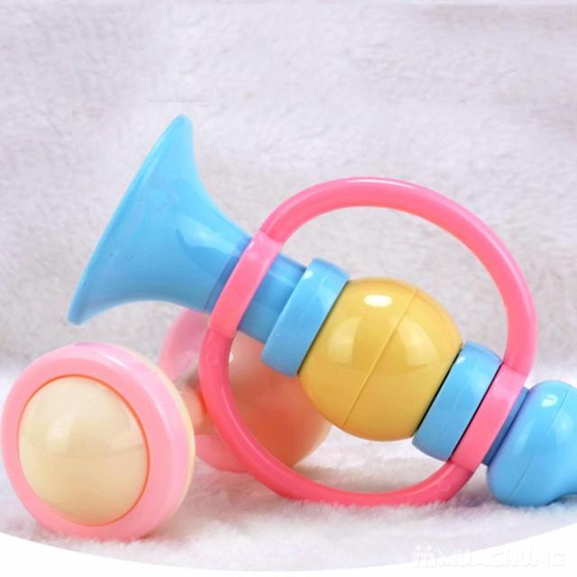 Bộ đồ chơi xúc xắc, lục lạc 10 món cho trẻ sơ sinh - 14