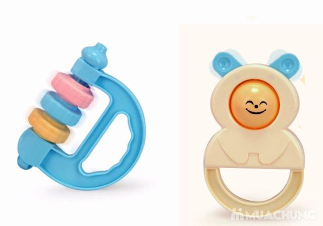 Bộ đồ chơi xúc xắc, lục lạc 10 món cho trẻ sơ sinh - 13