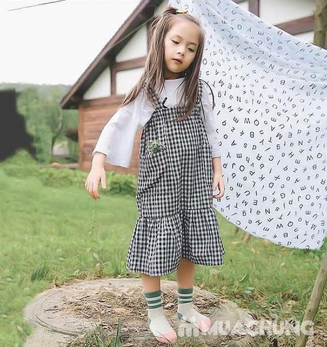 5 đôi tất len cao cổ sắc màu cho bé size 1-10 - 6