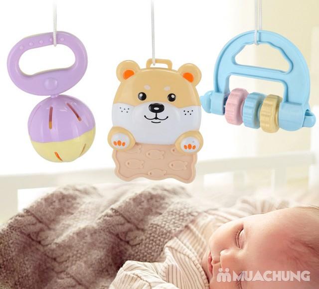 Bộ đồ chơi xúc xắc, lục lạc 10 món cho trẻ sơ sinh - 7