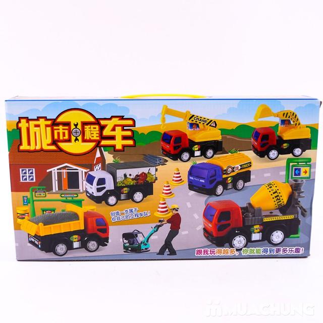 Bộ đồ chơi 6 xe công trình độc đáo cho bé yêu - 13