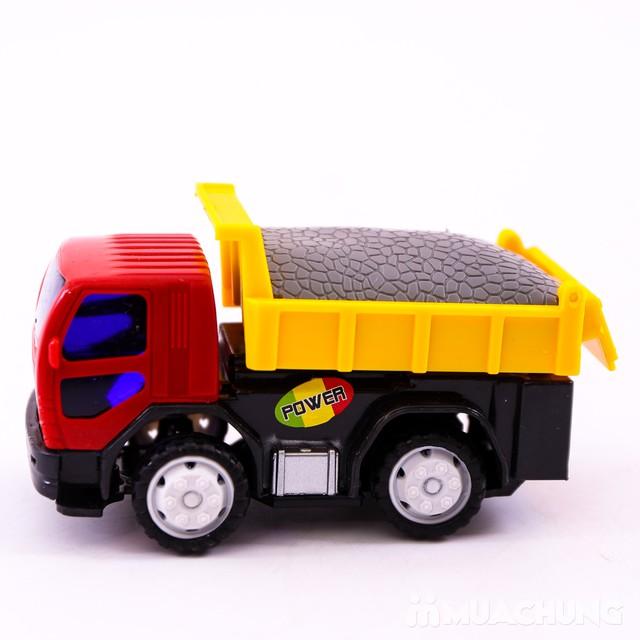 Bộ đồ chơi 6 xe công trình độc đáo cho bé yêu - 9