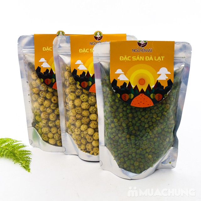 03 gói đậu phộng vị Hà Lan muối + rau củ Nguyên Vũ - 8
