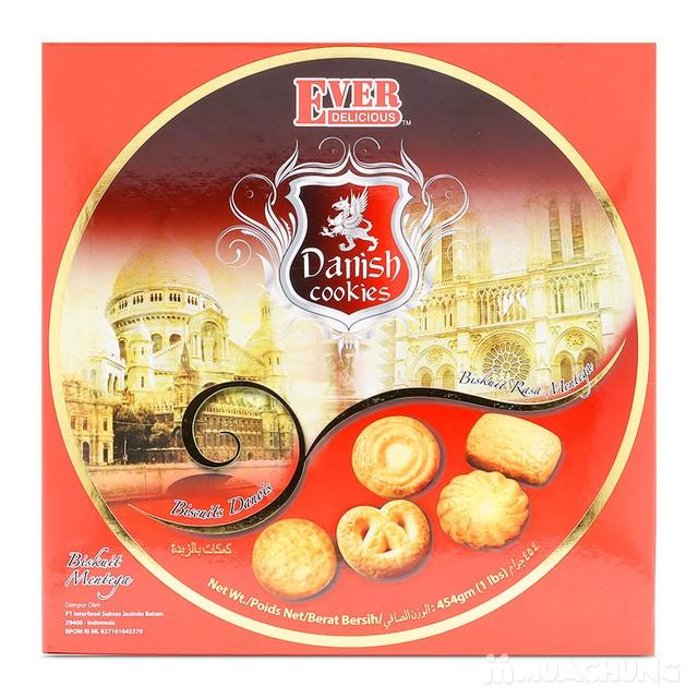 02 hộp bánh quy bơ hộp thiếc Danish Malaysia 454g  - 10