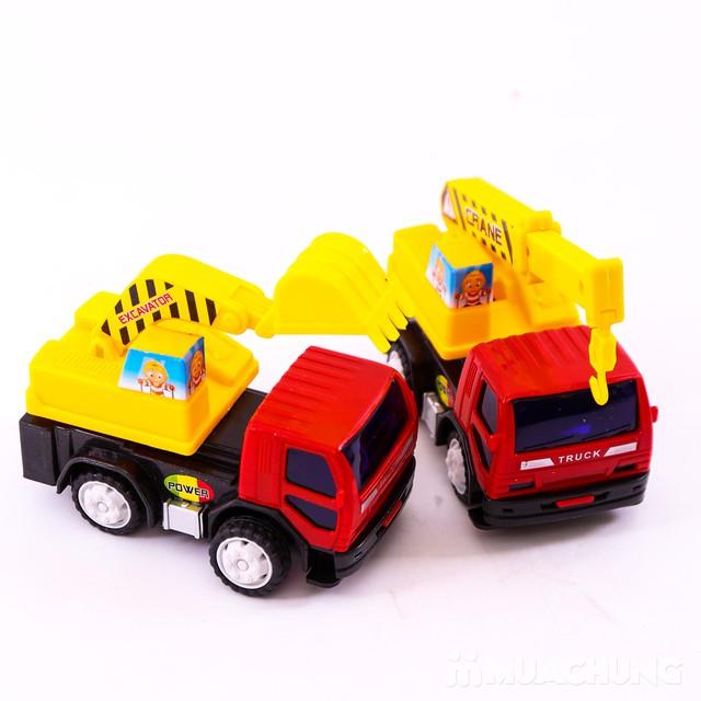 Bộ đồ chơi 6 xe công trình độc đáo cho bé yêu - 8