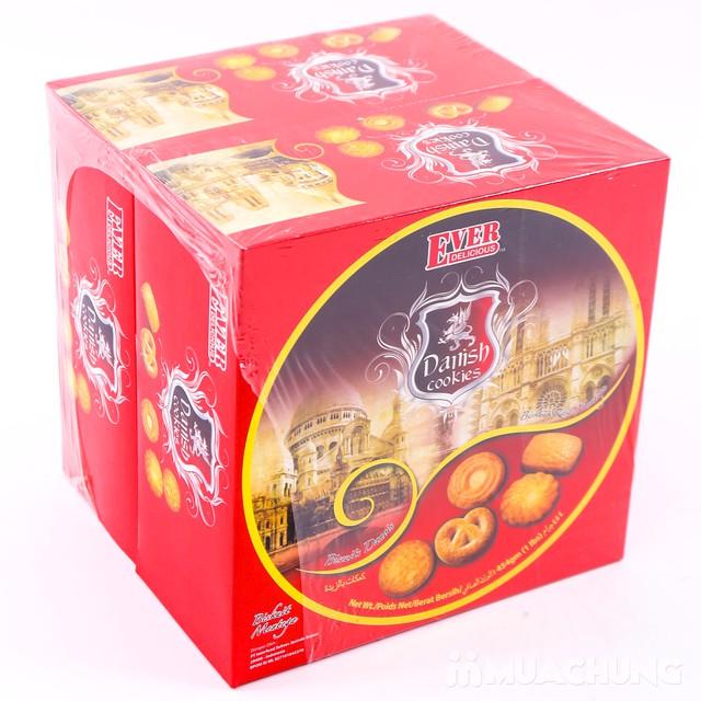 02 hộp bánh quy bơ hộp thiếc Danish Malaysia 454g  - 9