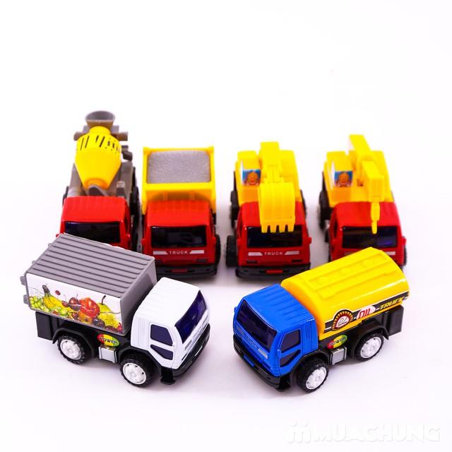 Bộ đồ chơi 6 xe công trình độc đáo cho bé yêu - 7