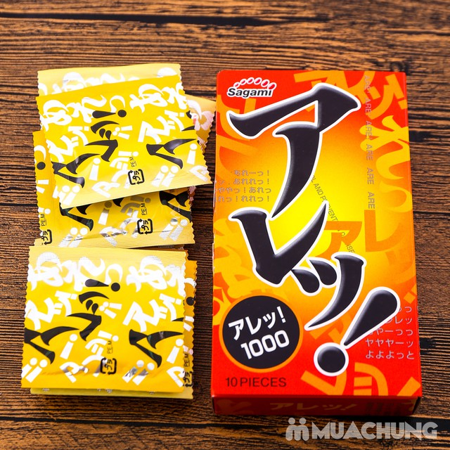 2 hộp bao cao su Sagami Xtreme Cola& Are Are Japan - 7