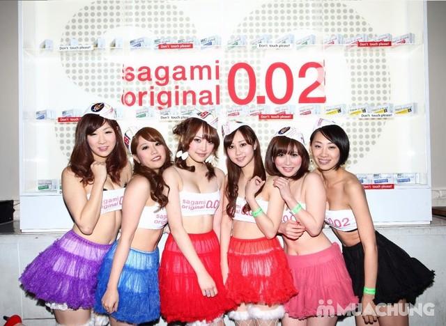 2 hộp bao cao su Sagami Feel Fit& Strawberry Japan - 6