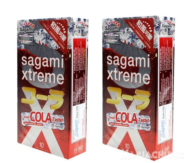 2 hộp bao cao su Sagami Xtreme Cola& Are Are Japan - 10