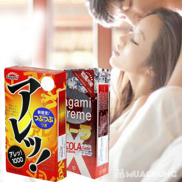 2 hộp bao cao su Sagami Xtreme Cola& Are Are Japan - 6