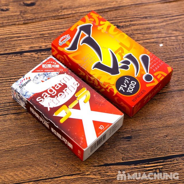 2 hộp bao cao su Sagami Xtreme Cola& Are Are Japan - 12