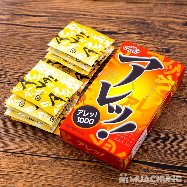 2 hộp bao cao su Sagami Xtreme Cola& Are Are Japan - 8