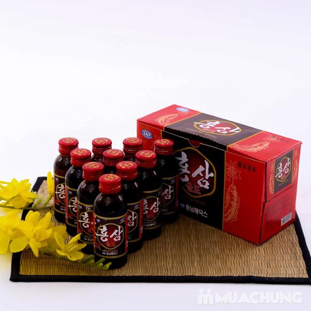 Hộp 10 chai nước uống hồng sâm NK Hàn Quốc - 6