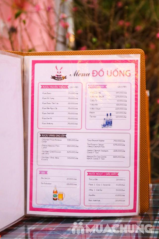 Mẹt Thỏ Đế Vương 6 món cho 3-4 người siêu hấp dẫn Nhà hàng Thỏ Đế Vương - 42