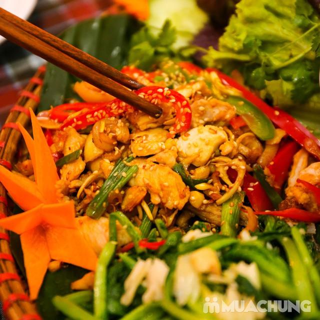 Mẹt Thỏ Đế Vương 6 món cho 3-4 người siêu hấp dẫn Nhà hàng Thỏ Đế Vương - 15
