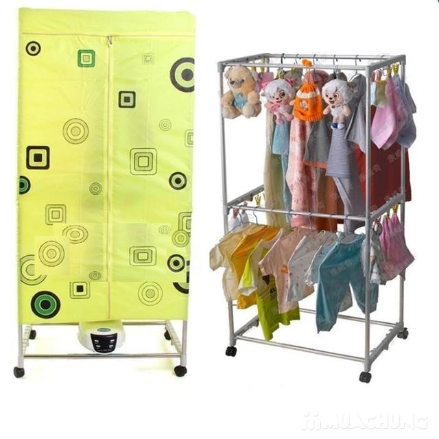 Tủ sấy quần áo cao cấp có điều khiển từ xa - 2